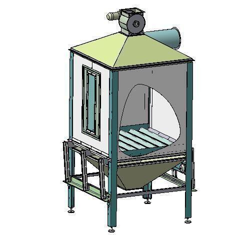Охладитель для пеллет изготовить своими руками